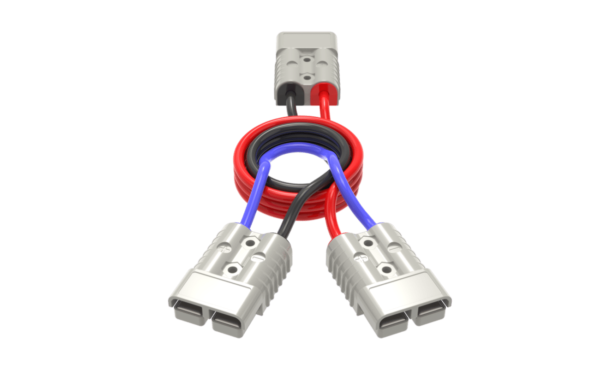 Series cable Anderson plug