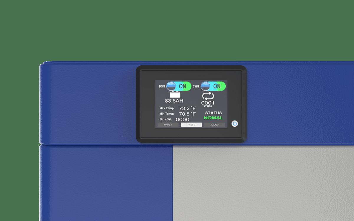 48V KONG LIFEPO4 233AH 12KWH LCD Display